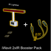 iWavit 2xIR Booster Pack